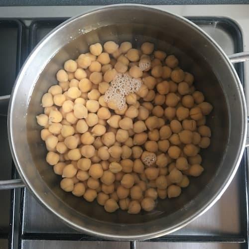 Photo recette pois chiches grillés