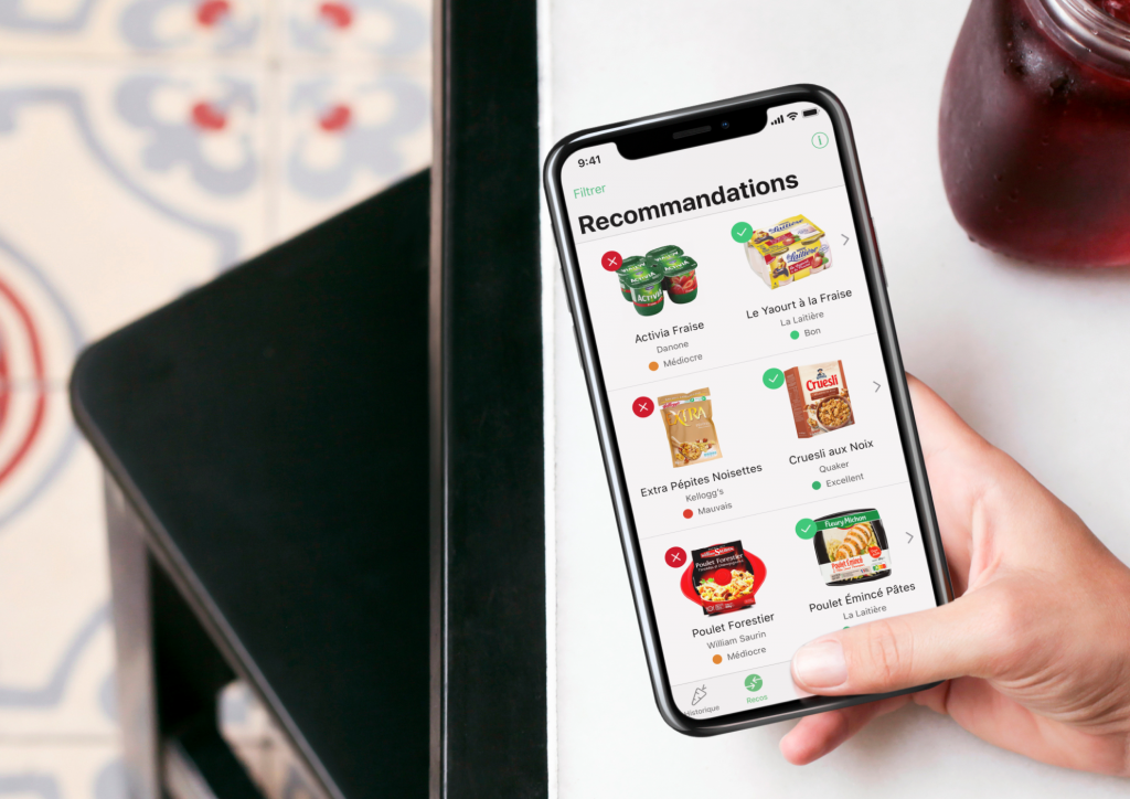 yuka l 39 application mobile qui scanne votre alimentation