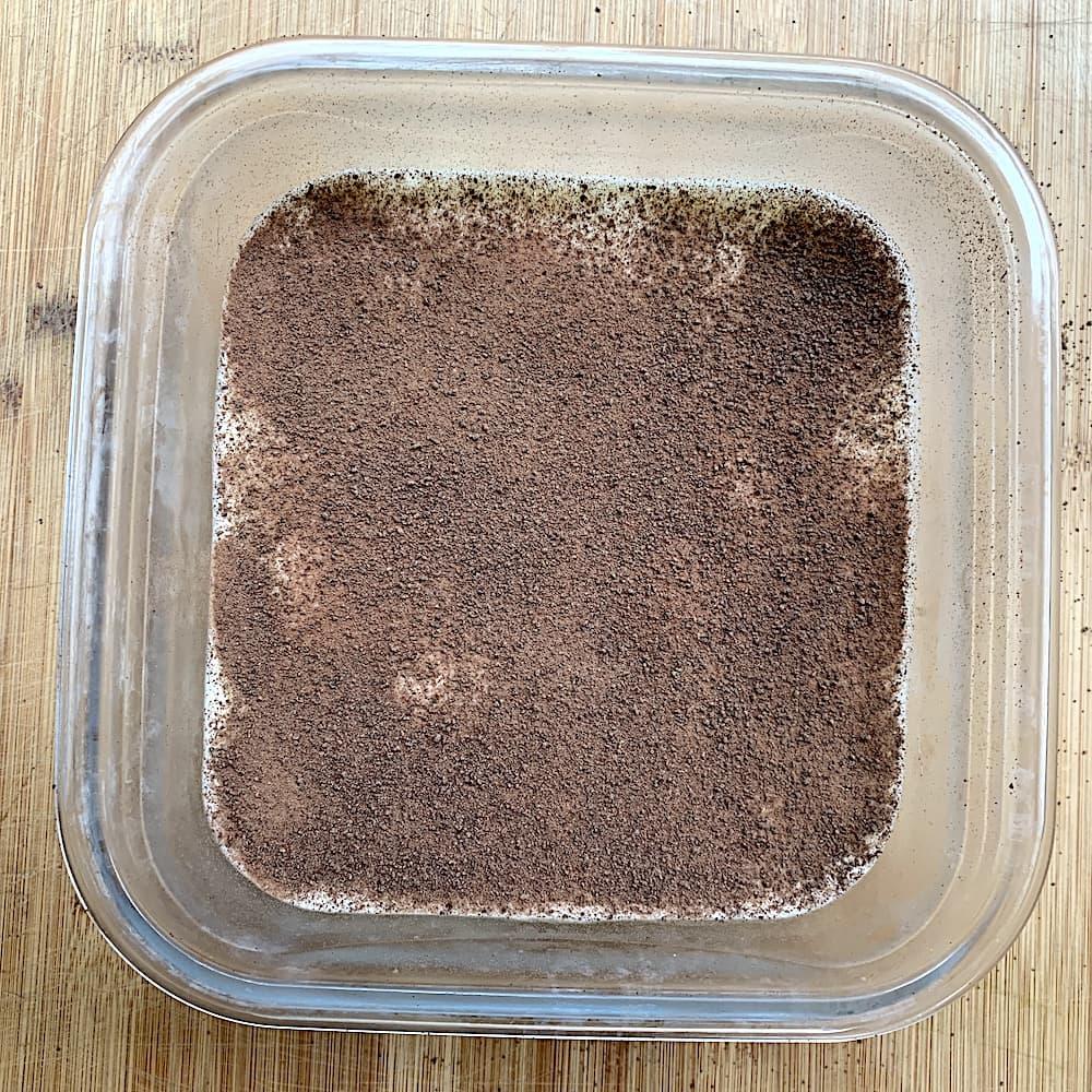 Photo tiramisu crème de marrons